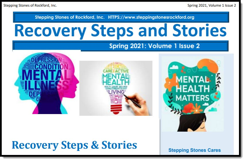 Recovery Steps and Stories: Spring 2021